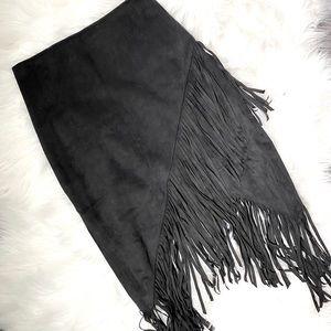 Express Fringe Skirt